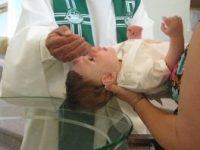 baptism at Gloria Dei Tomah