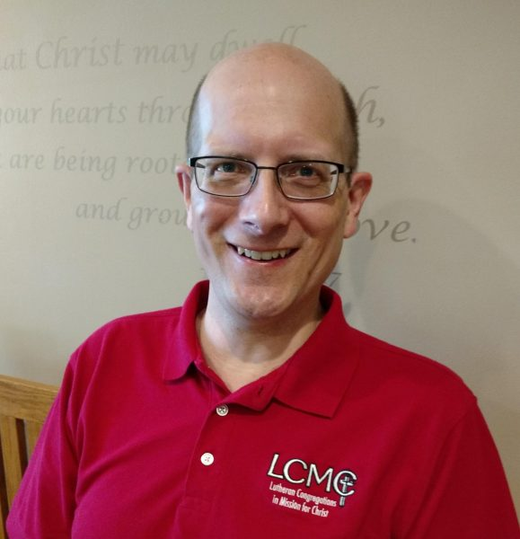 Pastor Dave Dahl of Gloria Dei Lutheran Church of Tomah, WI