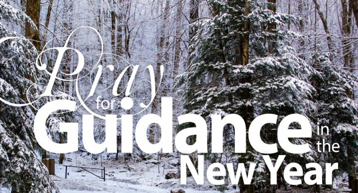 Pray for Guidance for the New Year