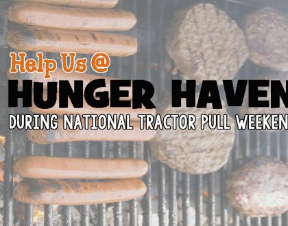 Hunger Haven at the Tractor Pull