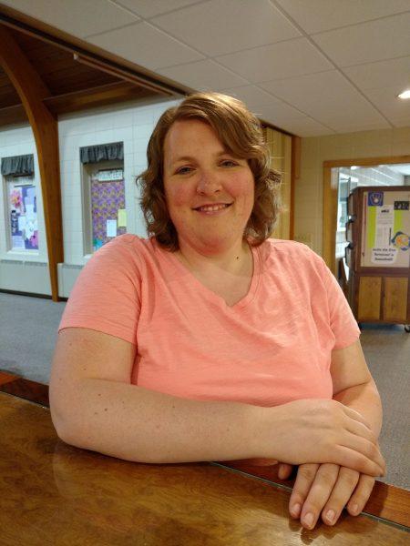 Jackie Kiel of Gloria Dei Lutheran Church in Tomah, WI