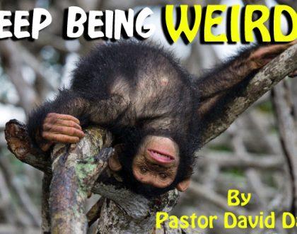 Keep Being WEIRD