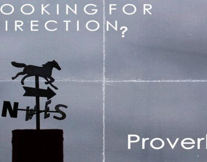 Looking for direction? Proverbs!