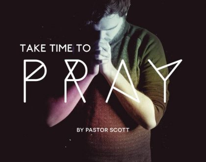 Taking Time to Pray