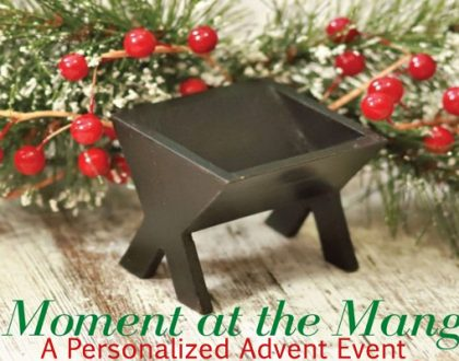 A Moment at the Manger